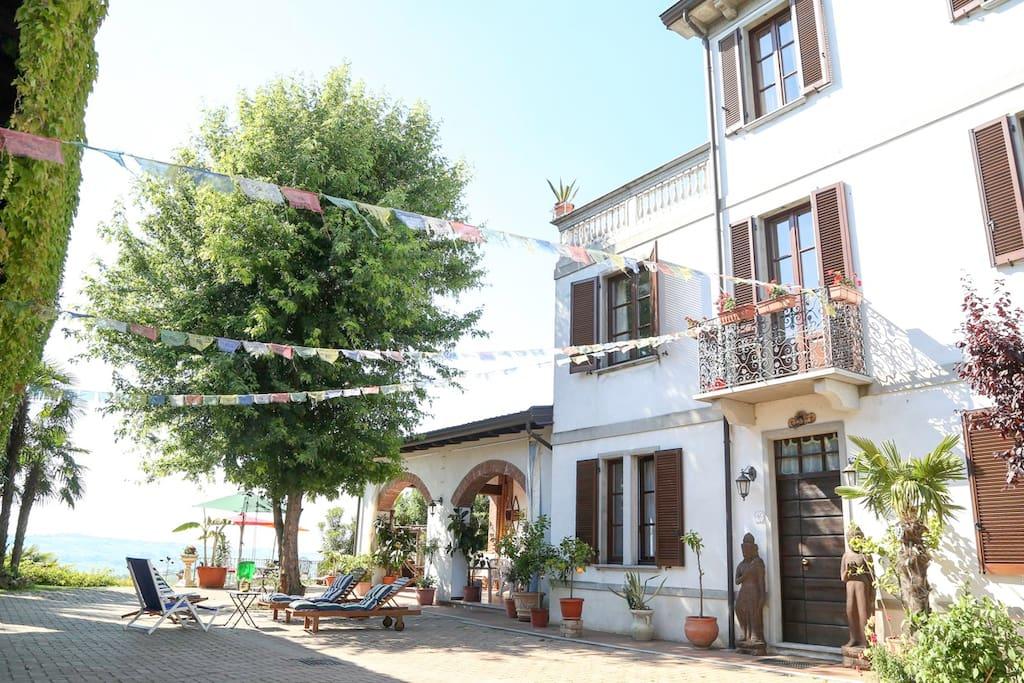 cortile interno  Villa Belvedere e Loft Belvedere