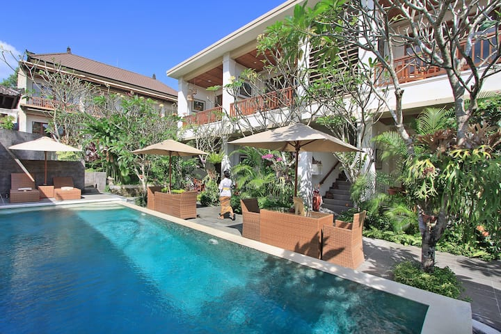 Cozy Suite In Heart Of Ubud Close to Yoga Center