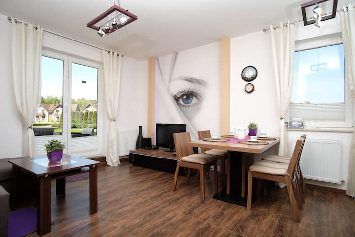 "Apartament nad morzem ""Blue eye"""