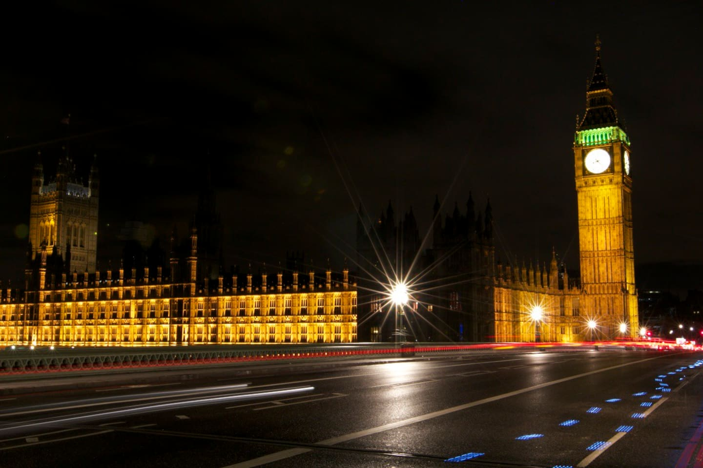 Big Ben view from westminster bridge (2-3 minutes walk from home)