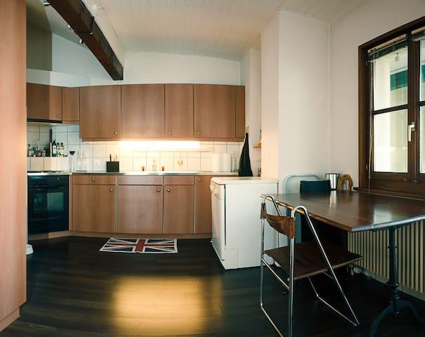 Appartement 3 rooms, in the center - Genève - Appartement en résidence
