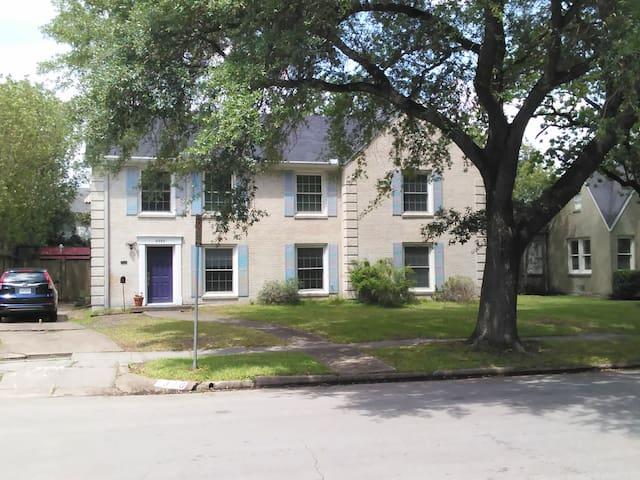 Rice Village, new 2nd floor unit in duplex - Houston - Appartement
