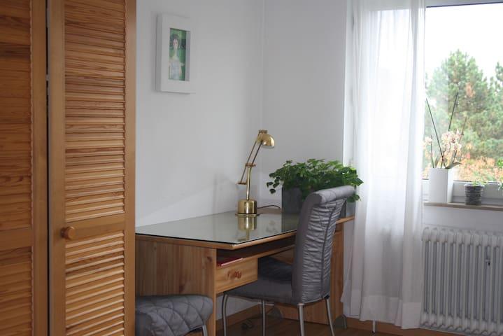 Zimmer in ruhiger Lage - 15min->Hbf - Frankfurt - Talo