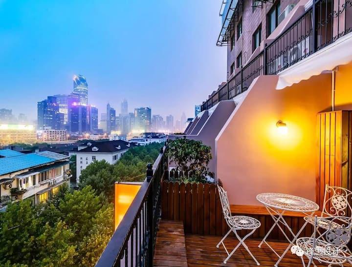 #当上海邂逅巴黎# 坐落于CBD的法式风格小屋 @淮海路 @新天地 @南京路 @静安寺 @徐家汇