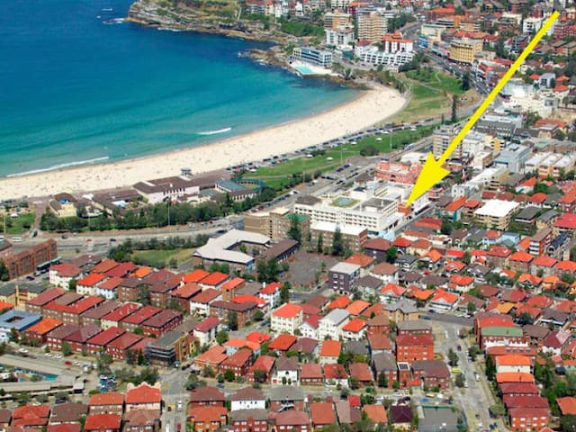 Your own private studio, just steps to the beach. - Bondi Beach - Departamento