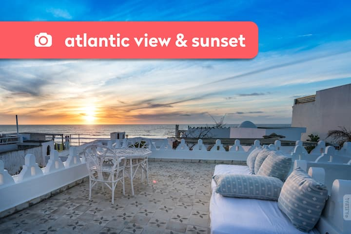 Asilah ★ Dar el Maq ★ Riad con vistas al Atlántico