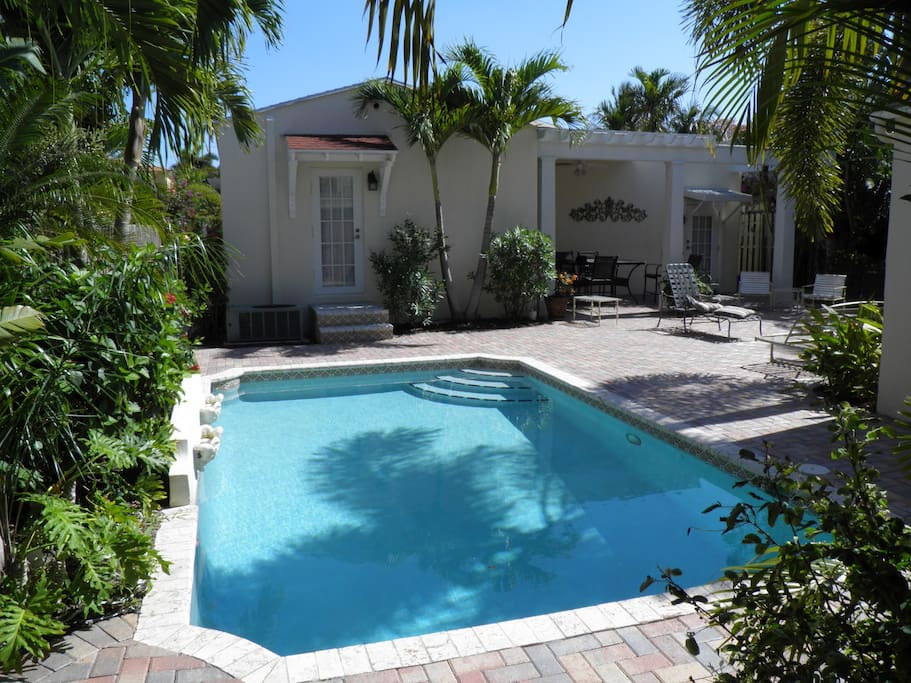 Mediterranean 2 bedroom home with pool houses for rent - 2 bedroom suites in west palm beach fl ...