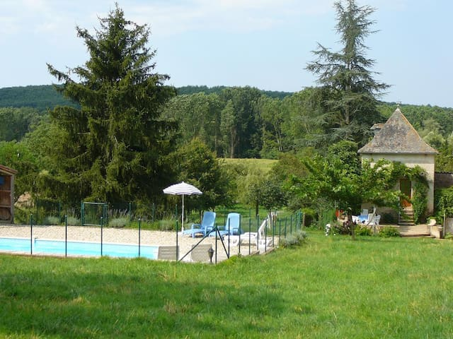 Pigeonnier+private pool in the Tarn - Le Riols - Andre