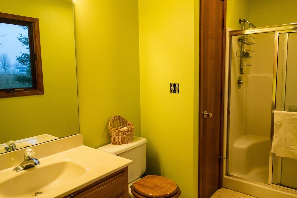 Master bath--Available with whole-house rental only.