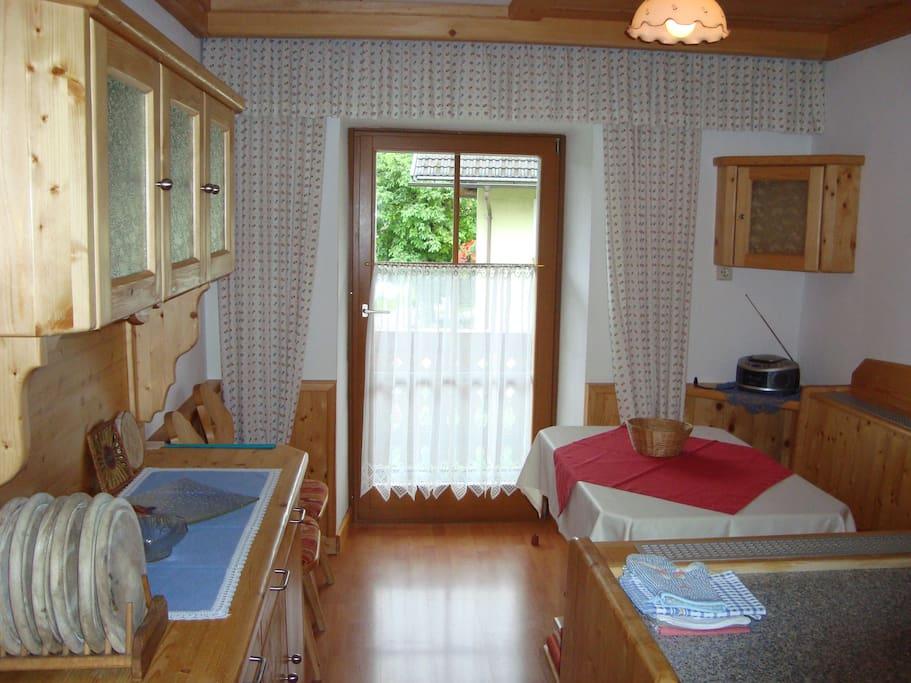 Wohnküche  Wohnung   Jochalm