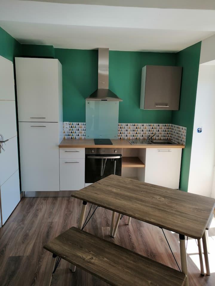Appartement T2 agréable et fonctionnel