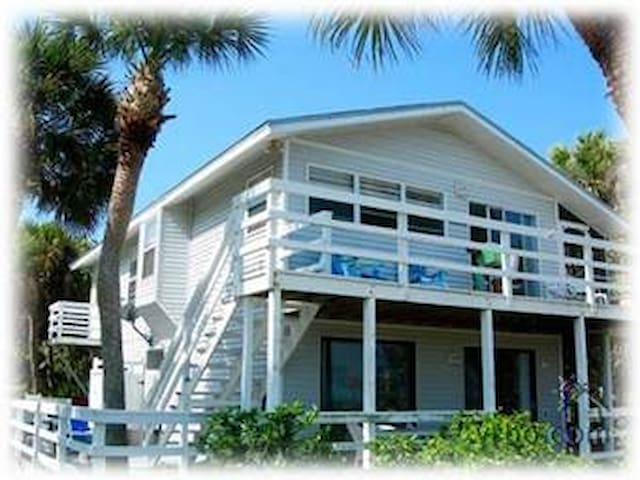 Private Island Home with Gulf View  - North Captiva Island