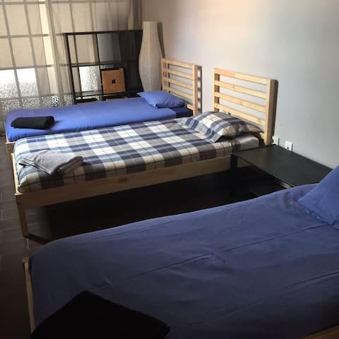 Casa compartida habitaciones individuales - อาโรนา - บ้าน