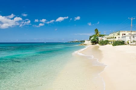 Beachfront apt., Barbados westcoast - Douglas - Appartement