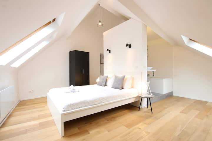Cosey flat in old town of Brussels