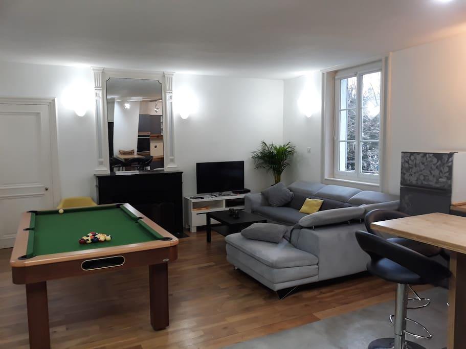 appartement type loft de 55m en centre ville lofts louer grenoble auvergne rh ne alpes. Black Bedroom Furniture Sets. Home Design Ideas