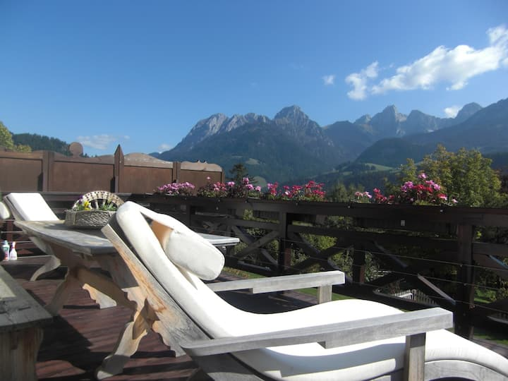 Cosy and charming 3 bedroom apt 15 min from Gstaad