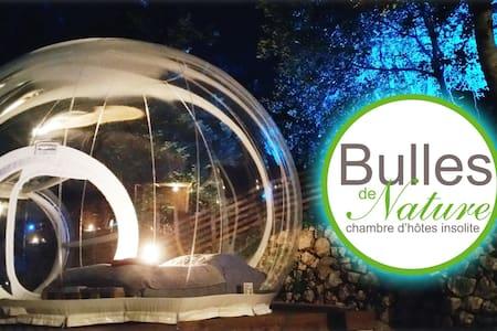 bulle insolite entre la nature & les étoiles - Gilette - Andere