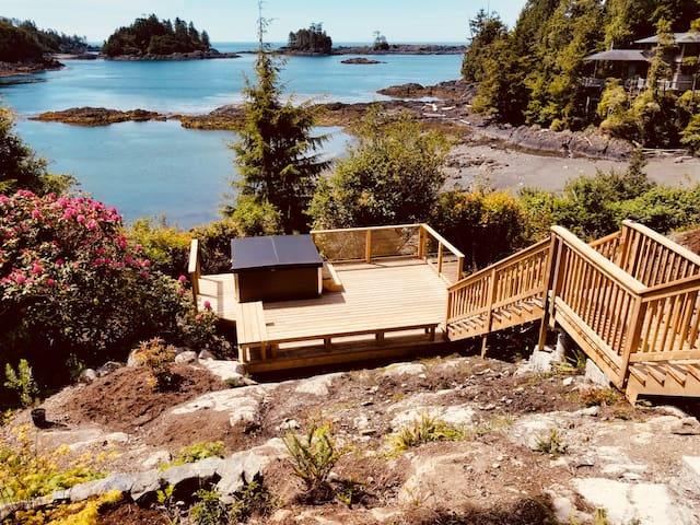 Ocean Front Ucluelet Private Guest Suite 2