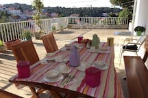 Breakfast at the terrace-optional for additional payment