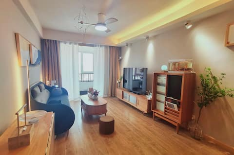 【越居】雪野湖畔仿日式独立公寓 智能家庭巨幕影音 近当地生活圈