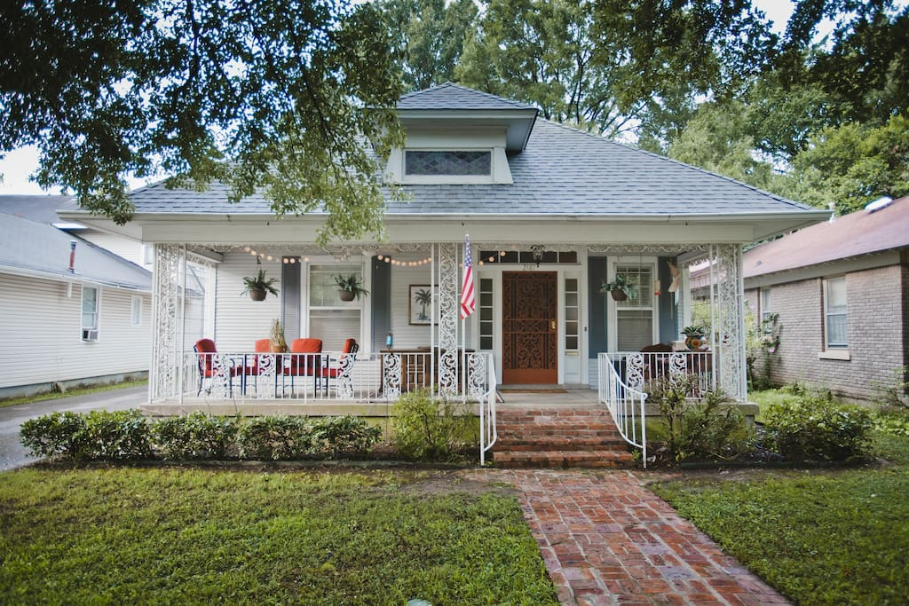 Amazing neighborhood just steps away from Memphis restaurants, music and more.