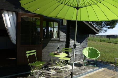 Gîte Studio Les Pins Perdus proche St Emilion - Saint-Ciers-d'Abzac - 샬레(Chalet)