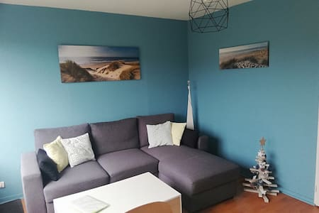 Appartement 33m2  (T2 + cabine) face aux dunes