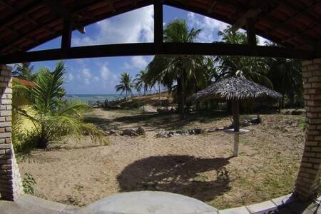 Incrível chalé para 2 / praia de Maracajaú (Verde)