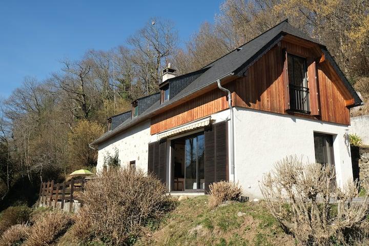 grange rénovée  180m2 vue Pyrénées Lourdes