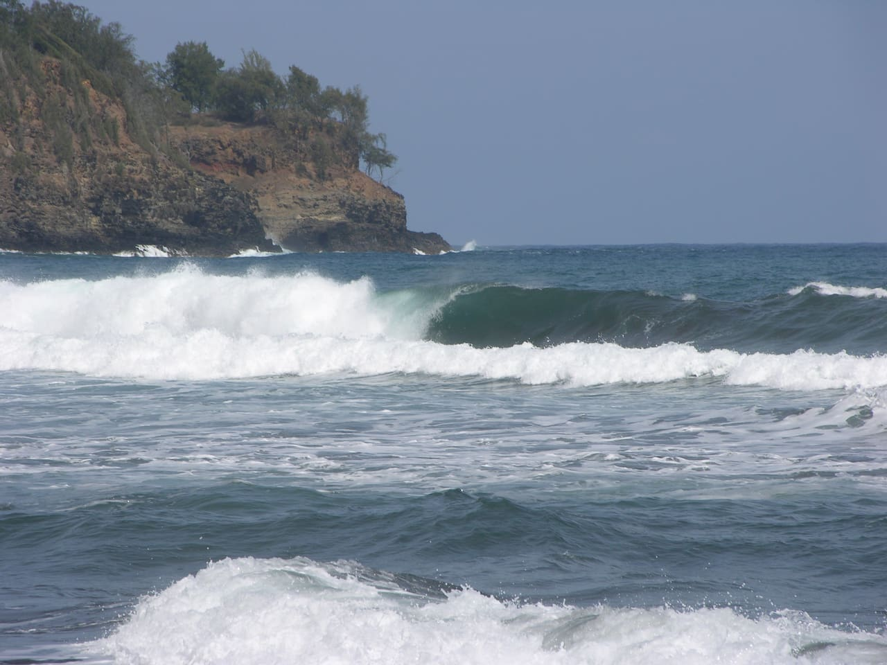 Pololu Valley-one of the many great hikes and waves