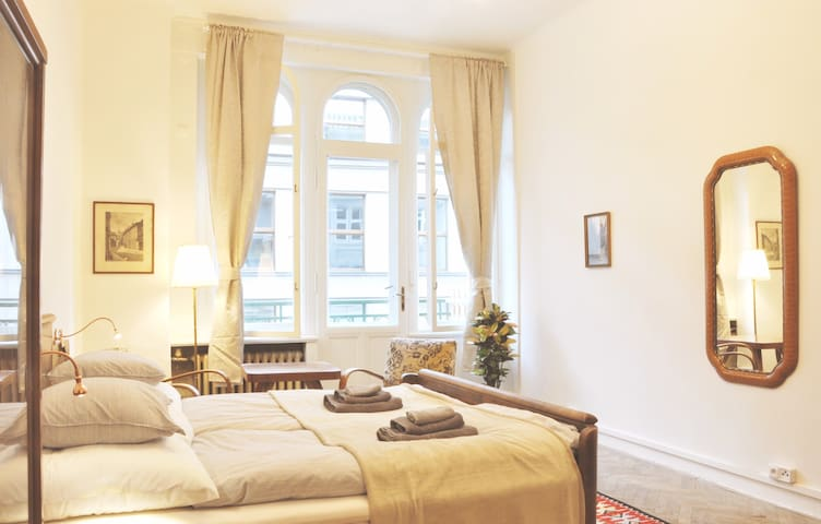 Lucerna Elegant Apartment at Heart❤️of Prague