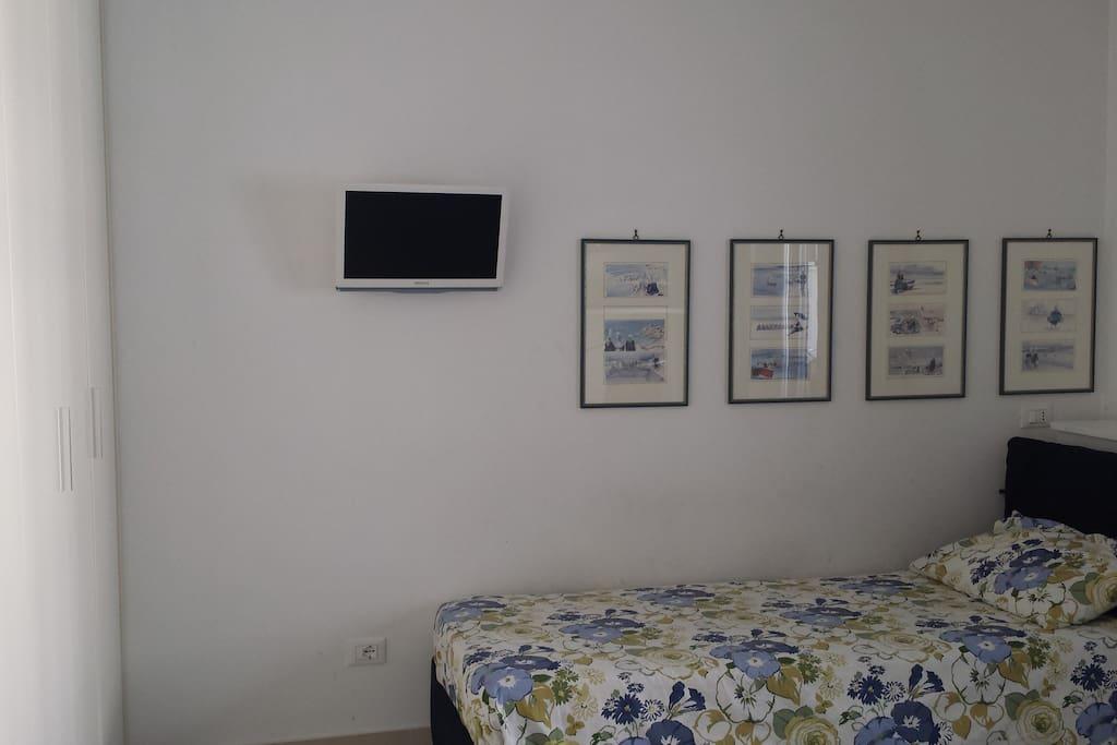 Una delle stanze da letto. One of the bedrooms