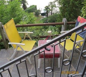 studio private entrance, terrace,private beach - Lugano - Villa
