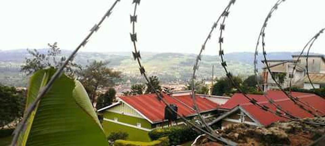 View of Kabale hills