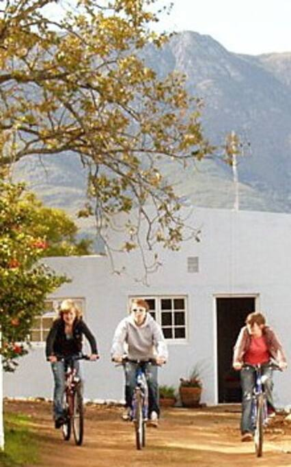 for couplesAn ideal base for an active exploring holiday - for groups of friends, for families, who like space,  privacy and independence