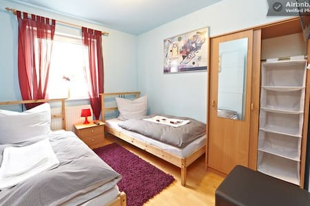 Doppelzimmer Nürnberg Zentrum - นูเรมเบิร์ก - บ้าน