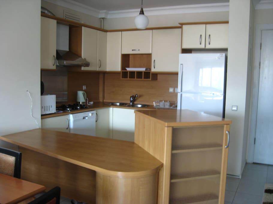 Kitchen, Entrance
