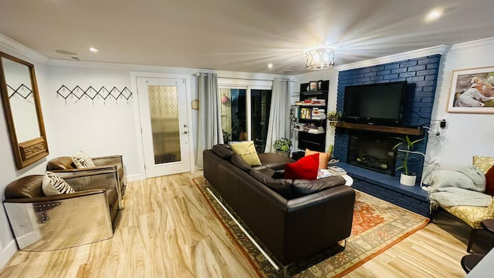 Modern Suite with own entrance close to SFO