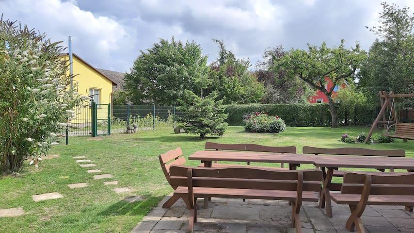 Ferienwohnung Smillenzweg mit umzäunten Garten