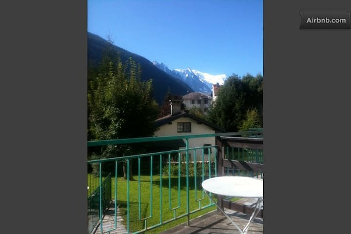 Lovely Studio Chamonix Mont Blanc - Chamonix-Mont-Blanc - Huoneisto