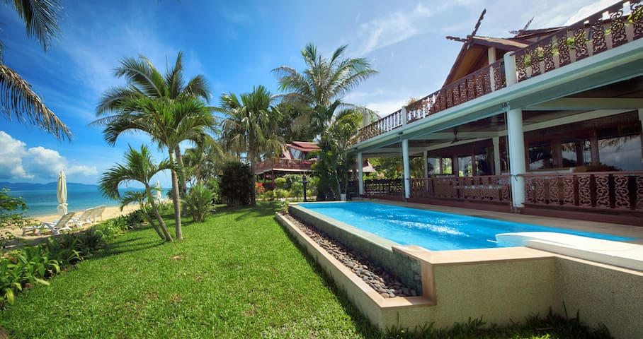 Villa on the beach w/ private pool (8pax) - Ko Samui - Villa