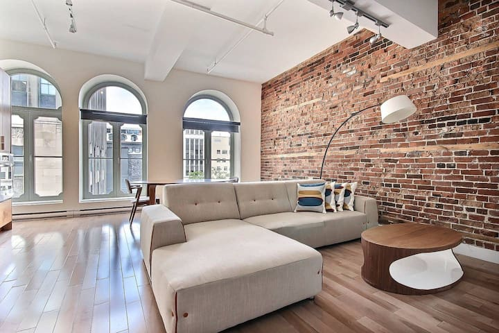 Spacious 1Br apartment in Old Montreal