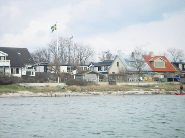 On the shore at Öresund - Helsingborg - House