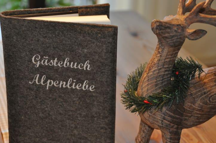 """Ferienwohnung """"Alpenliebe"""" Tutzing - Tutzing - Apartment"""