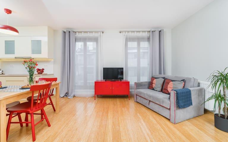 Modern studio apartment Piwna 25