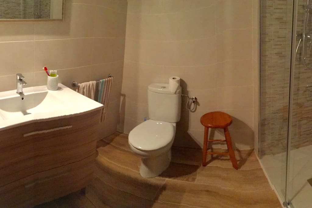 El bany acabat de reformar