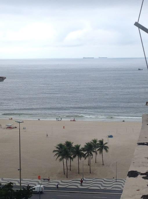 Balcony_ sea view (rainy day)
