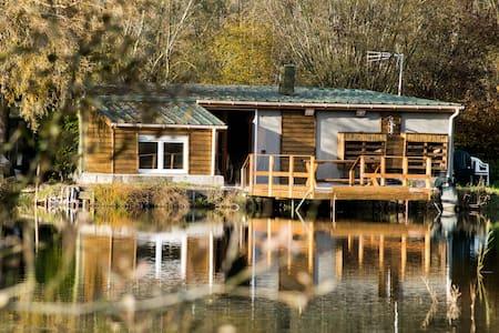 Maison 3 chambres avec étang de pêche