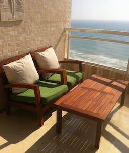 SeaView, 4br Penth, luxury central - Netanja - Wohnung